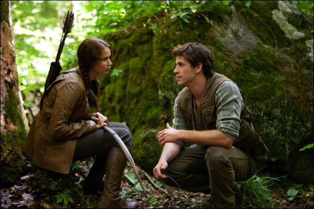 Comment s'appelle le compagnon de chasse de Katniss ?