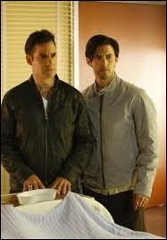 Dans quelle série retrouve-t-on Nathan et Peter ?