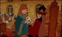 Laquelle des soeurs d'Anastasia s'était moquée du dessin qu'elle avait fait pour sa grand-mère ?