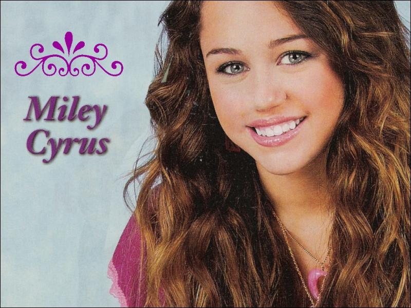 Miley Cyrus est...