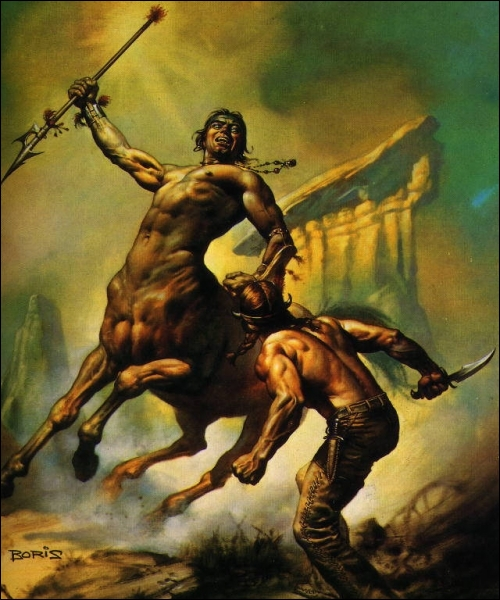 Cette créature est mi-homme mi-cheval, on la nomme...