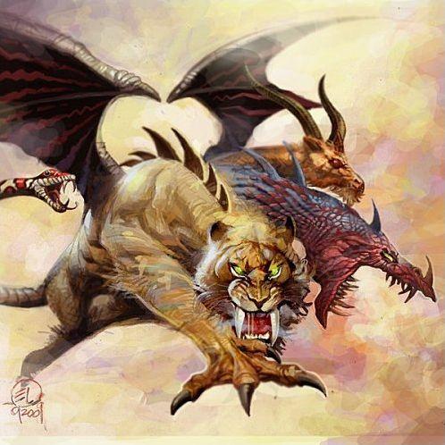 Mythologie grecque : Créatures