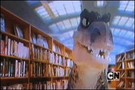 Comment s'appelle le dinosaure dans la classe de Gumball ?