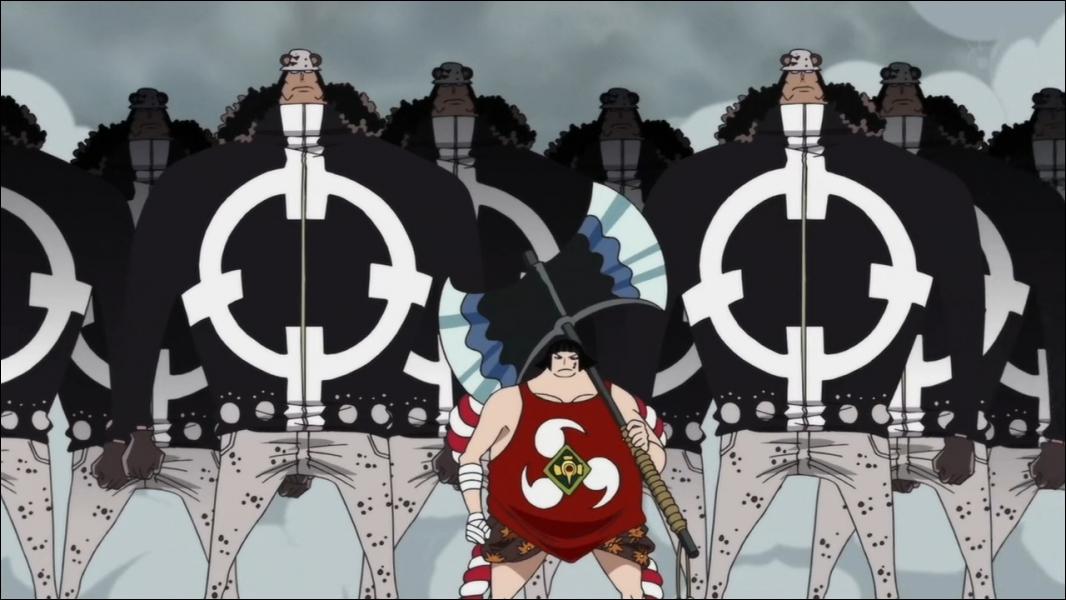 Quel  Pacifista  Luffy détruit-il en un seul coup sur l'archipel Sabaody ?