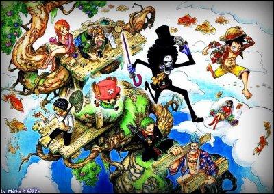 Quel est le nom du dernier bateau de Monkey D. Luffy ?