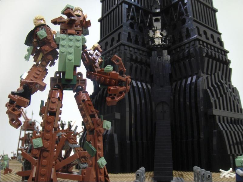 Dans  Le retour du roi , qui attaque le Minas Tirith sur l'ordre de Sauron ?