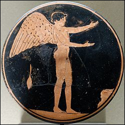 Voici Eros, dieu grec de l'Amour et de la puissance créatrice, quel est son équivalent romain ?
