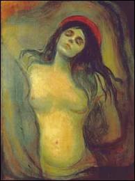 Quel grand peintre est l'auteur de cette Madone 'érotique' ?