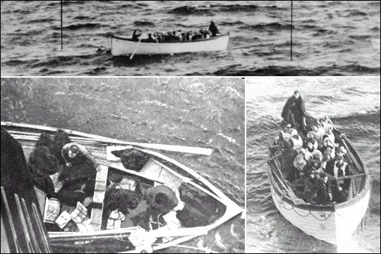Laquelle de ces affirmations portant sur le processus d'évacuation du Titanic est fausse ?