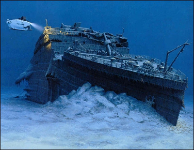En quelle année l'épave du Titanic est-elle découverte ?