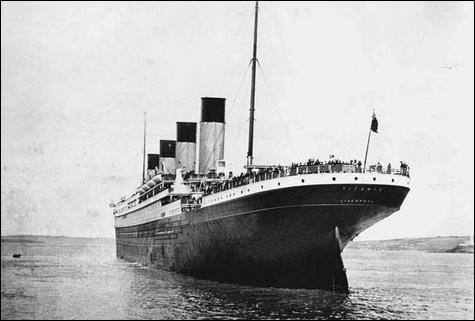En quelle année a lieu le naufrage du Titanic ?