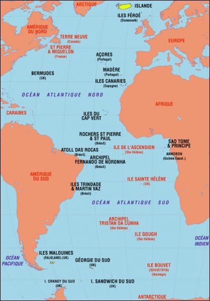 À quel endroit le Titanic fait-il naufrage ?