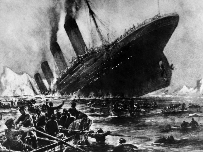 Qualifiez le naufrage du Titanic avec le plus de précision :