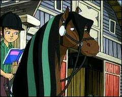 Qui est-ce et comment s'appelle son cheval ?