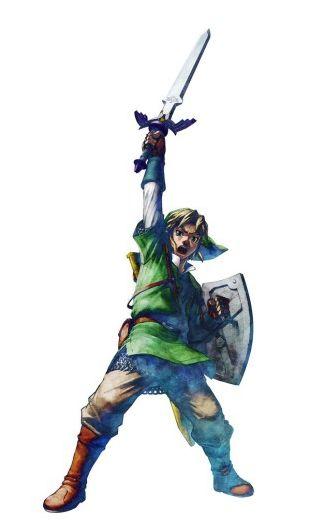 The legend of Zelda Skyward Sword (Personnages)