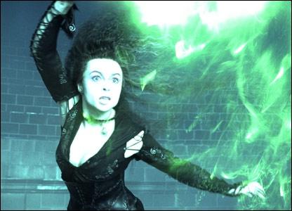 Contre qui Bellatrix se bat-elle ?