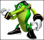 C'est un crocodile, il est détective et fait partie de la Chaotix. Connaissez-vous son nom ?