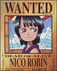 Avant ses 8 ans, sur quelle île Nico Robin vivait-elle ?