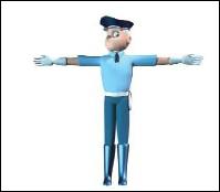 Si vous vous retrouvez face à un policier positionné comme celui-ci, cela signifie que...