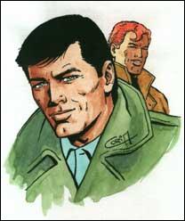 ''Égaré dans la vallée infernale / Le héros s'appelle Bob Morane / ... Dérivant à bord du sampan / L'aventurier au parfum d'Ylalang / Son surnom : --------'' (Indochine)