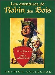 ''On m'appelle Robin des Bois / Je m'en vais par les champs et les bois / Et je chante ma joie par-dessus les toits''