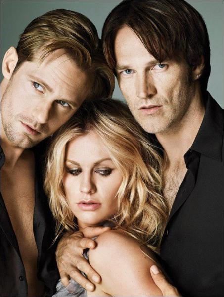 Dans quelle série retrouve-t-on Eric, Bill et Sookie ?