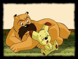 Quel dessin animé raconte les aventures de ces deux chiens errants ?