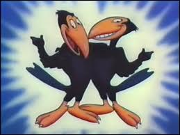 Connaissez-vous les noms des ces deux corbeaux espiègles ?