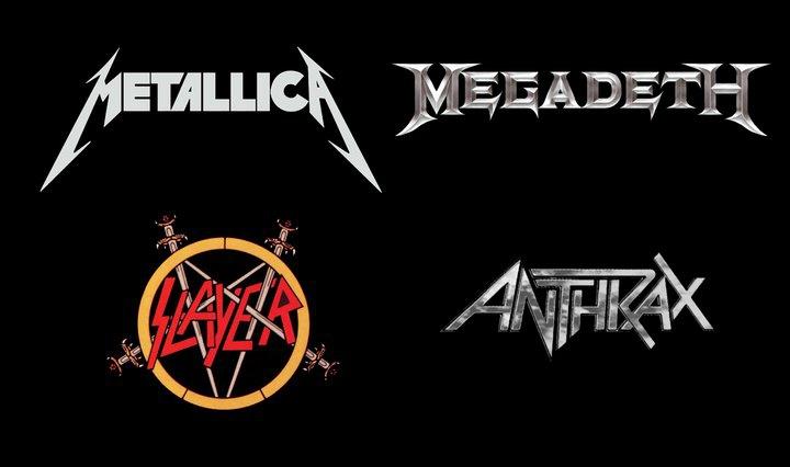 Que forment ces quatre groupes de metal ?