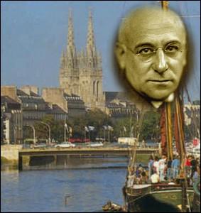 Ce poète, romancier et peintre, né à Quimper en 1876 était l'ami de Picasso, Braque , Apollinaire et Modigliani. Son oeuvre majeure : un recueil de poèmes   Le Cornet à dés   ... .