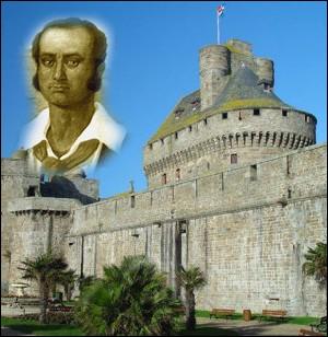 Marin intrépide né à Saint-Malo en 1773; il harcela les marines marchandes et militaires britanniques sur toutes les mers du monde ... .