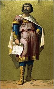C'est son père qui avait fait de cette fonction le coeur du pouvoir royal et avait rendu cette charge héréditaire. Qui était le père de Charles Martel ?