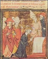 De quelle dynastie de la noblesse franque sont-ils issus ?