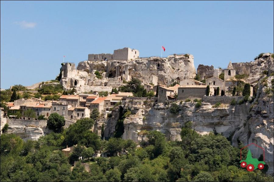 Village touristique du Sud de la France. Les...