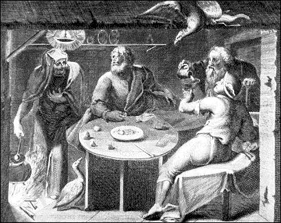 Vieillards mythologiques. Philémon et...