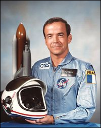 Astronaute français. Patrick...