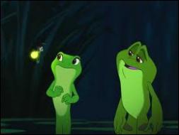 Comment s'appelle la luciole qui devient l'ami de Tiana et Naveen transformés en grenouille ?