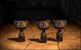 Dans quel film peut-on voir 3 oursons très espiègles ?