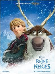 Quel est le nom du renne de Kristoff dans  La Reine des neiges  ?