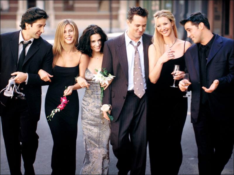 Dans quelle série retrouve-t-on Ross, Rachel, Monica, Phoebe, Chandler et Joey ?