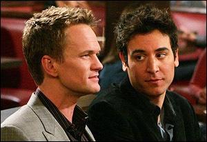 Dans quelle série retrouve-t-on Ted et Barney ?
