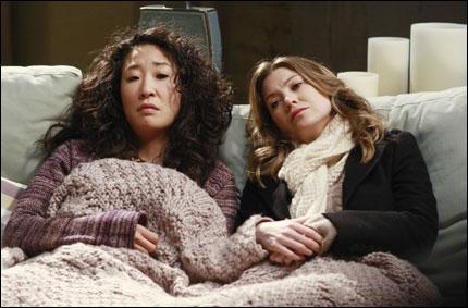 Dans quelle série retrouve-t-on Meredith et Christina ?
