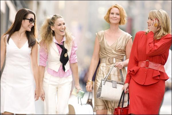 Dans quelle série retrouve-t-on Carrie, Miranda, Charlotte et Samantha ?