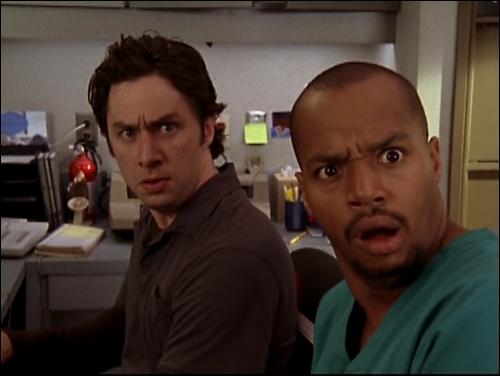 Dans quelle série retrouve-t-on J. D et Turk ?