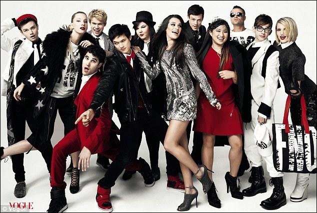 Quelle chanteuse a joué dans Glee ?