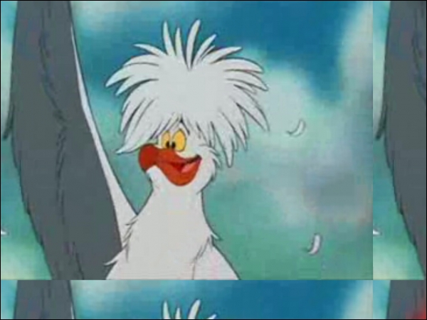 Qui est ce personnage et qui lui donne une voix (doublage de 1989) ?