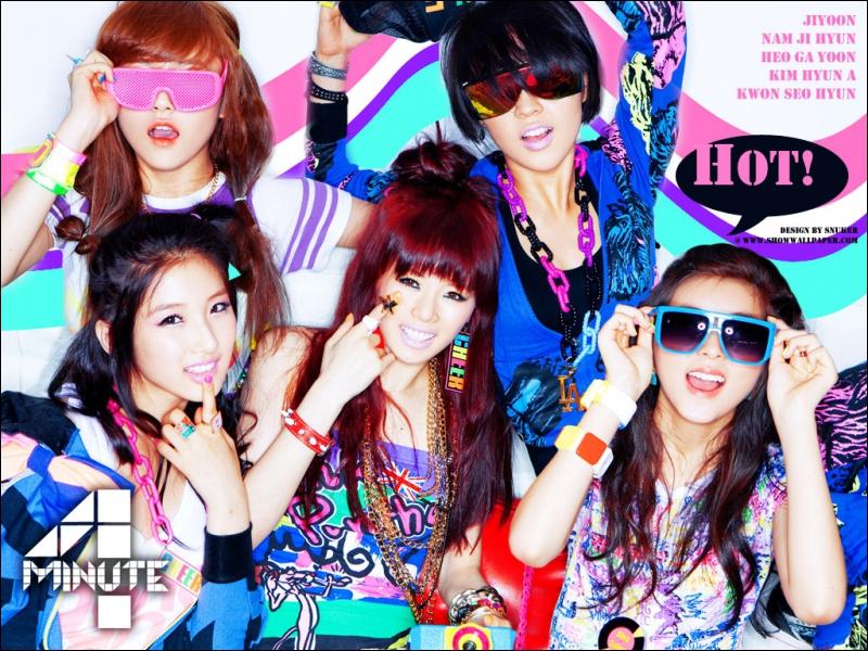 Qui est le leader de : 4Minute ?