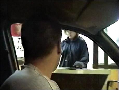 Dans quel fast-food a-t-il expliqué sa méthode pour manger quand on n'a pas d'argent ?