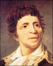 Marat est le fondateur du journal révolutionnaire  Le Pére Duchesne  :