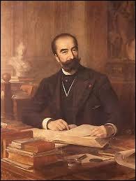 Sadi Carnot fut président sous la 2ème République :